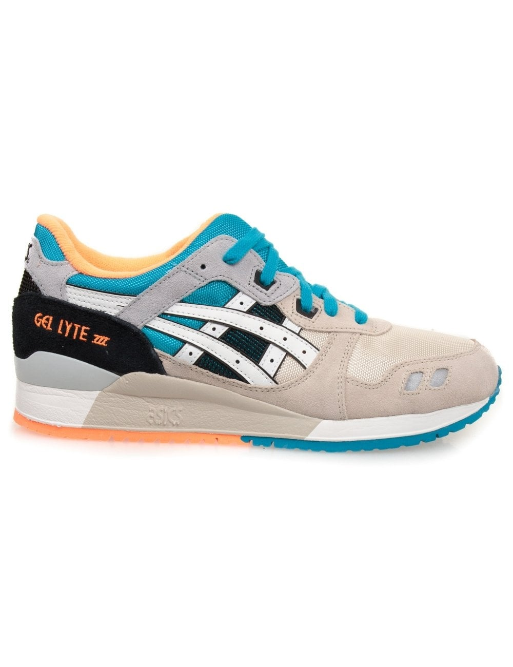 asics gel lyte iii off white white asics from fat. Black Bedroom Furniture Sets. Home Design Ideas