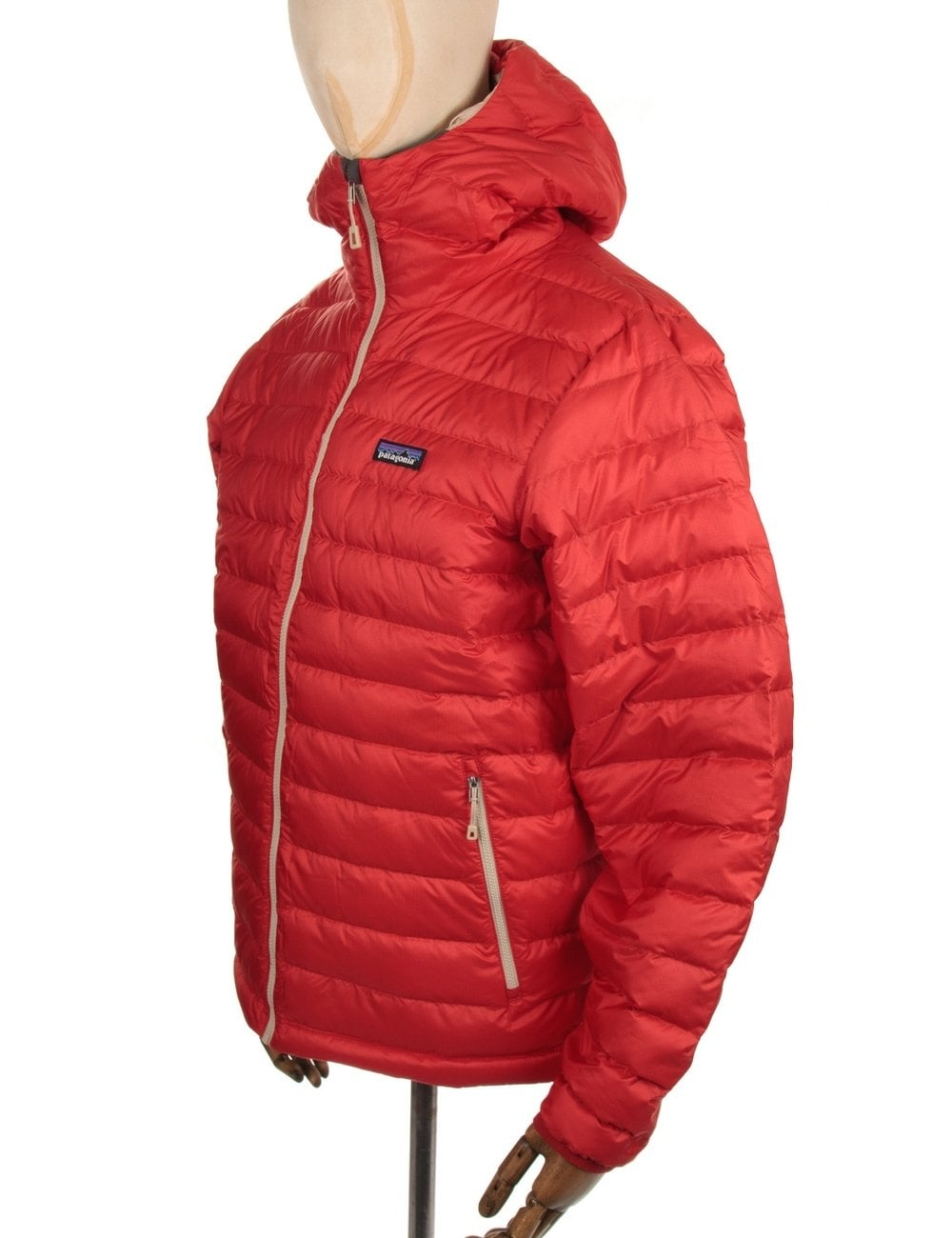 Patagonia Down Sweat Hooded Jacket Cochineal Red