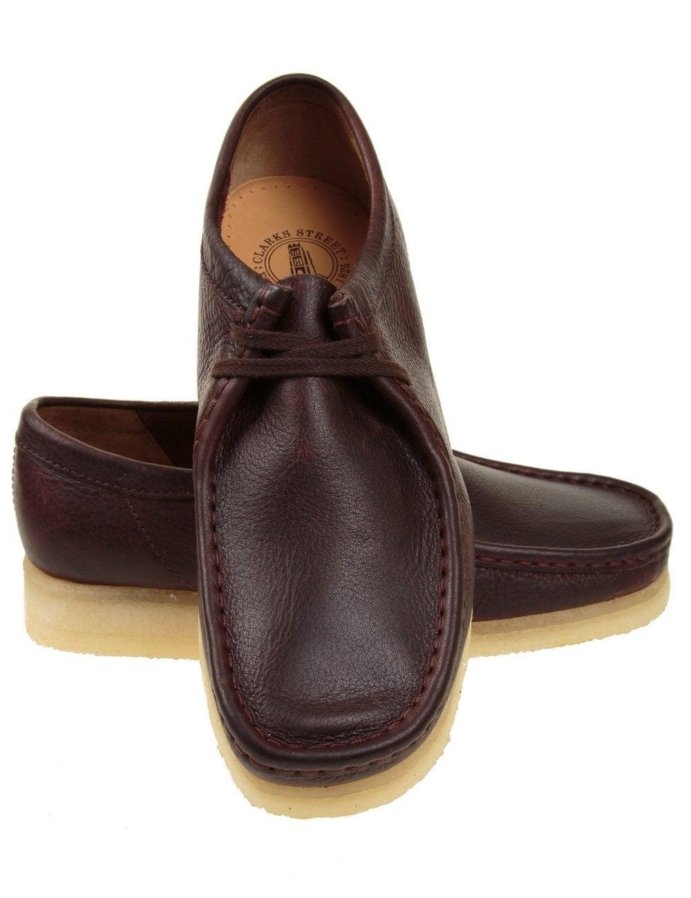 clarks originals wallabee shoe brown leather clarks originals from. Black Bedroom Furniture Sets. Home Design Ideas