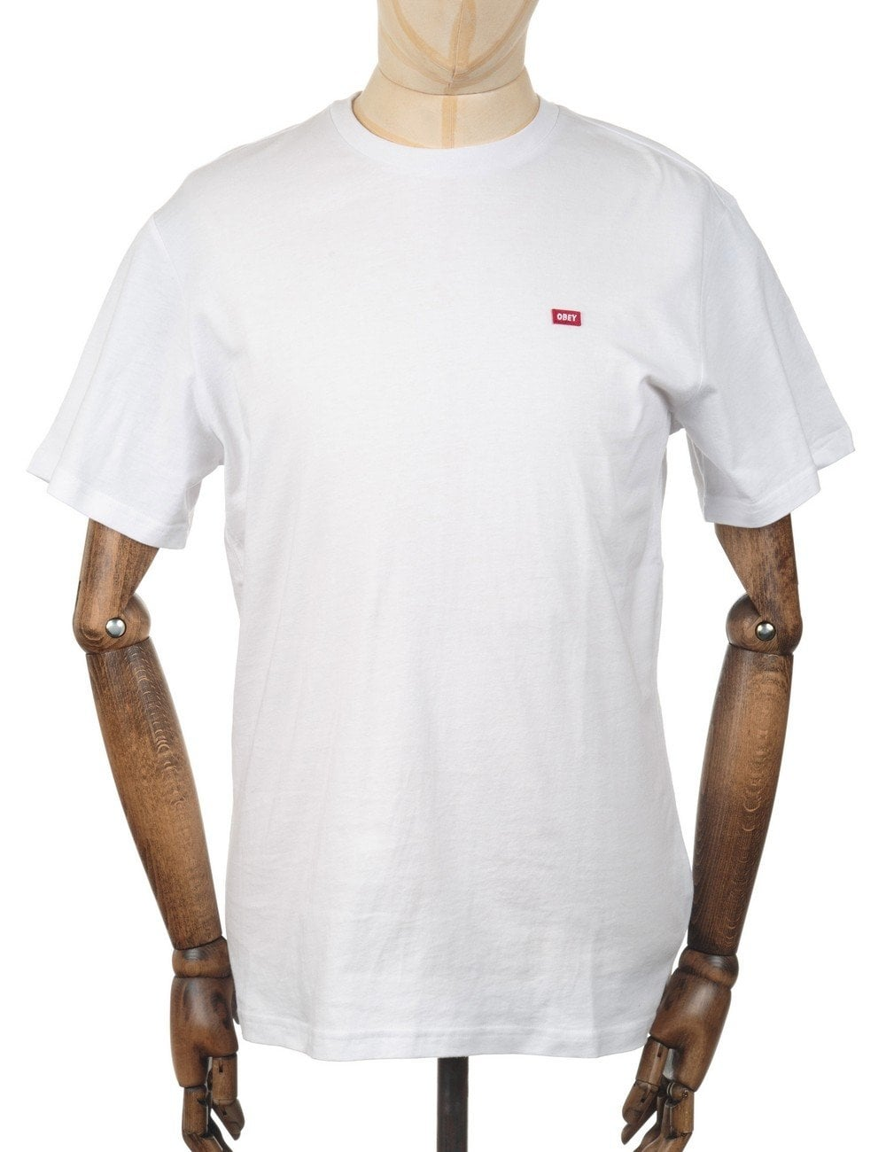 a54cb6522 obey clothing high standard t shirt white obey clothing from fat buddha  store uk