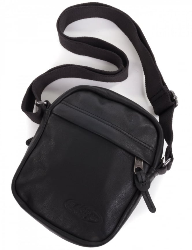 Leather Eastpak Backpack: Eastpak The One Sidepack