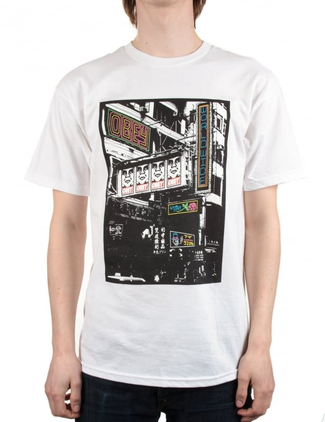Obey Clothing Chinese Streets - White - Obey Clothing from ...