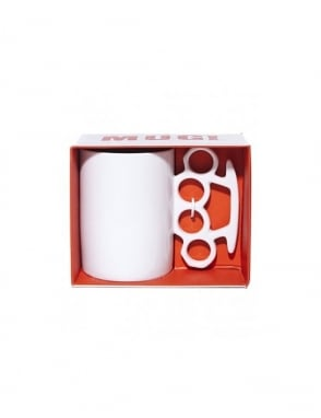 Thabto Knuckle Duster Mug - White