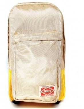 Obey Clothing Commuter Pack - Khaki/Gold