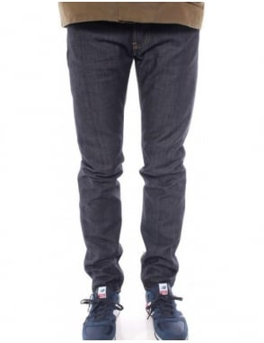 Edwin Jeans ED-80 Slim Taper Quartz Denim - Unwashed