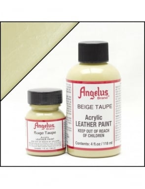 Angelus Dyes & Paint Beige 1oz - Leather Paint