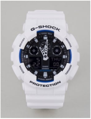 G-Shock GA-100B-7AER Watch - White