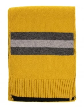 Universal Works Lambswool Scarf - Yellow