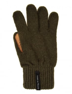 Raised by Wolves Gloves - Olive