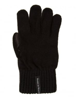 Raised by Wolves Gloves - Black