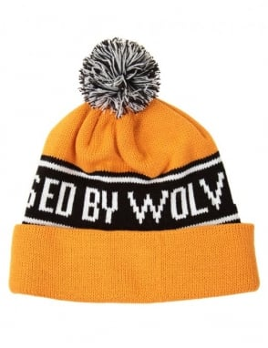 Raised by Wolves Toque Bruno Hat - Yellow