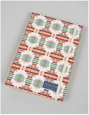 Pendleton Woolen Mills Printed Notebook (Lined) - White