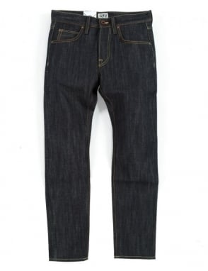 Edwin Jeans ED-55 Denim - Unwashed (Rainbow Selvedge)