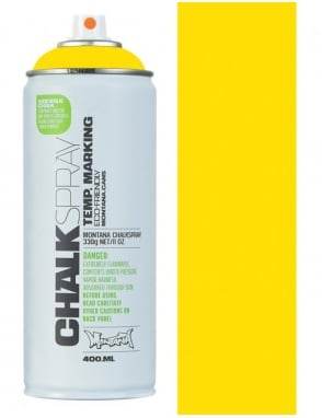 Montana Black Chalk Spray - Yellow