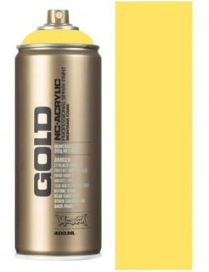 Montana Gold Easter Yellow Spray Paint - 400ml