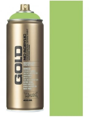 Montana Gold Green Apple Spray Paint - 400ml