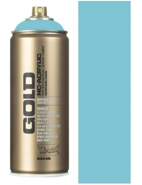 Montana Gold Shock Blue Light Spray Paint - 400ml