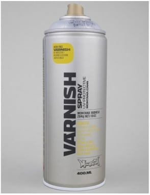 Montana Gold Gloss Varnish Spray Can - 400ml
