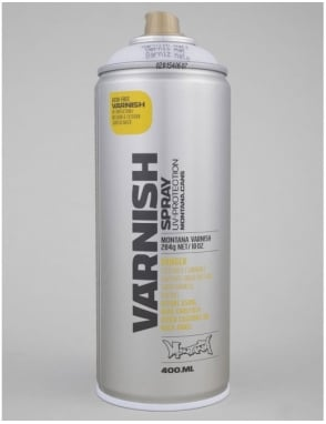 Montana Gold Matt Varnish Spray Can - 400ml