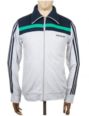 Adidas Originals 83 Europa Track Top - Light Grey