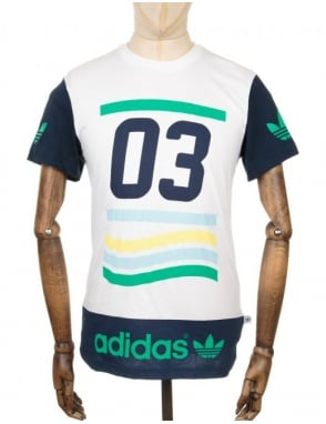 Adidas Originals Vintage 03 T-shirt - White