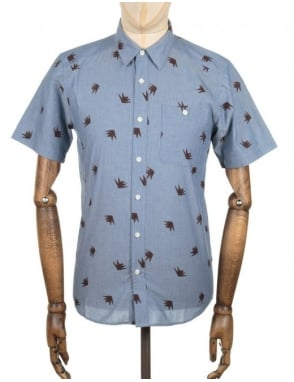Patagonia S/S Go To Shirt - Glass Blue