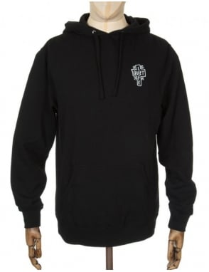 The Quiet Life Sharpie Hooded Sweat - Black