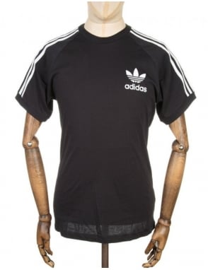 Adidas Originals California retro t-shirt - Black