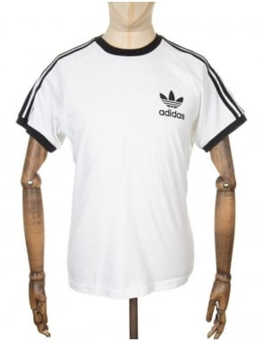 Adidas Originals California retro t-shirt - White
