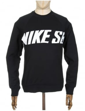Nike SB Everett Motion Sweatshirt - Black