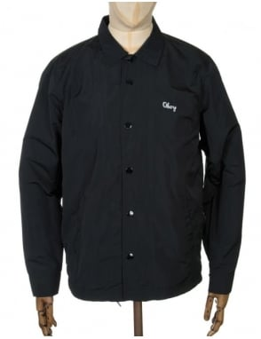 Obey Clothing Title Jacket - Black