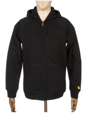 Carhartt Hooded Chase Jacket - Black