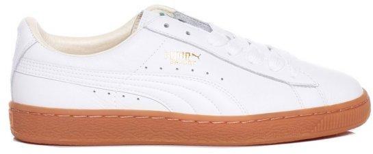 puma basket gum sole