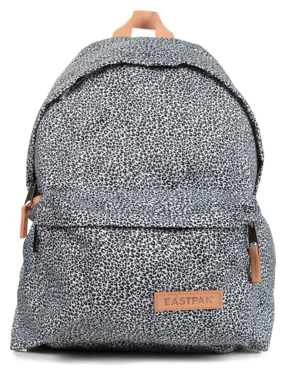Eastpak Padded Pak R Leather Backpack In Black For Men: Eastpak From Fat Buddha