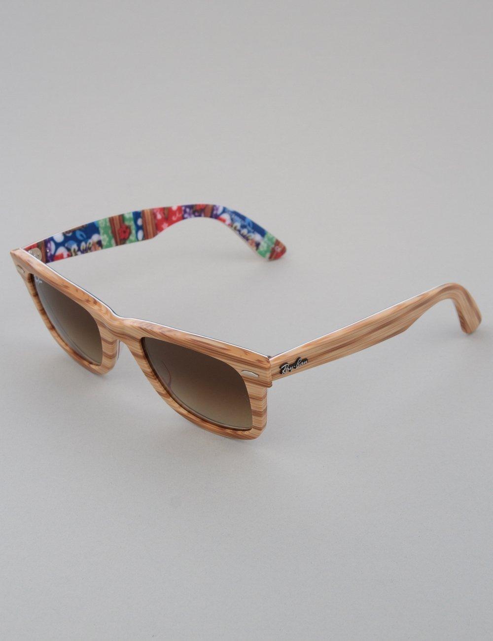 297bca683d Wood Ray Ban Wayfarer. Ray-Ban Original Wayfarer Sunglasses - Wood Surfs Up     Brown ...