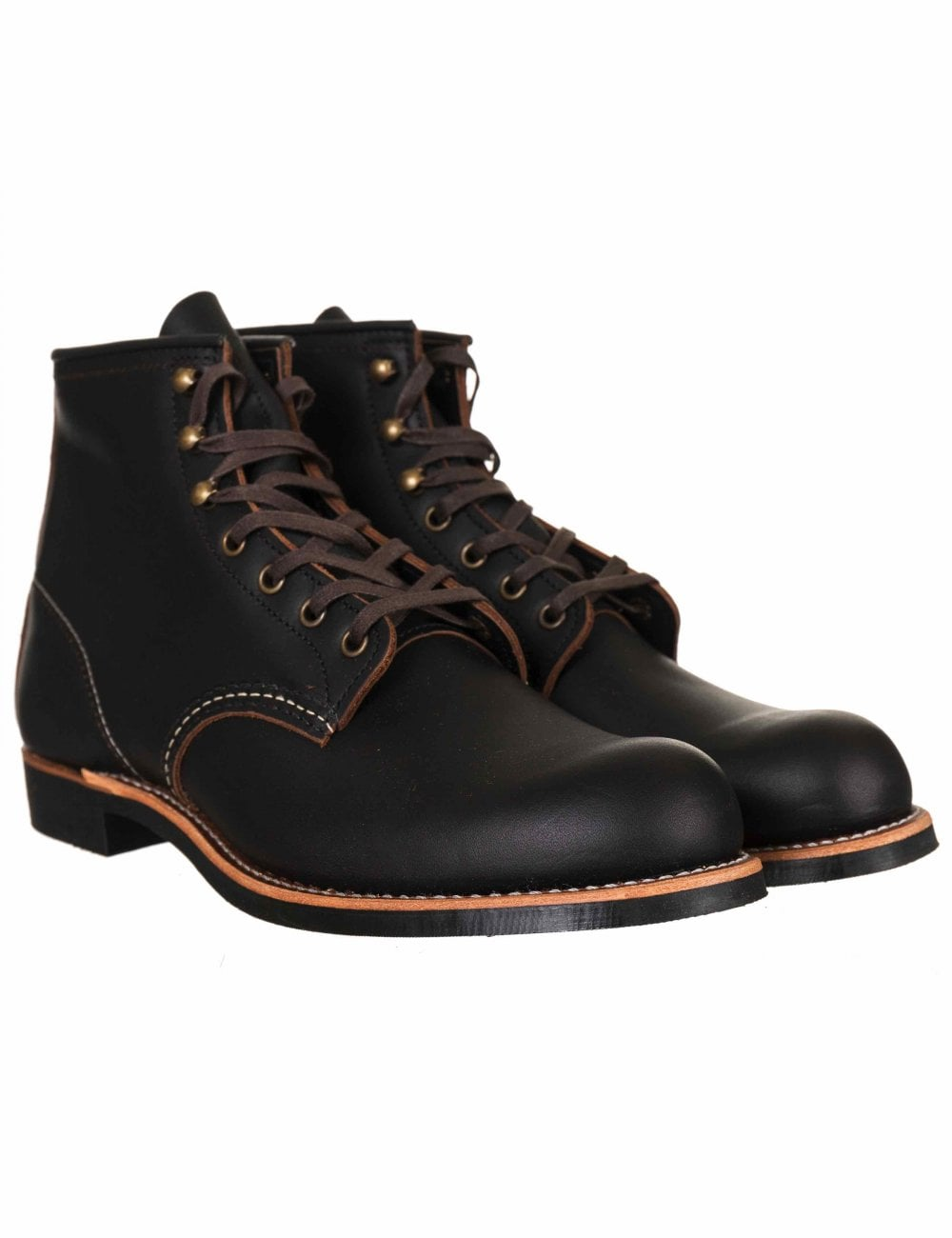 "Red Wing 3345 Heritage Work 6/"" Blacksmith Boot Black Prairie"