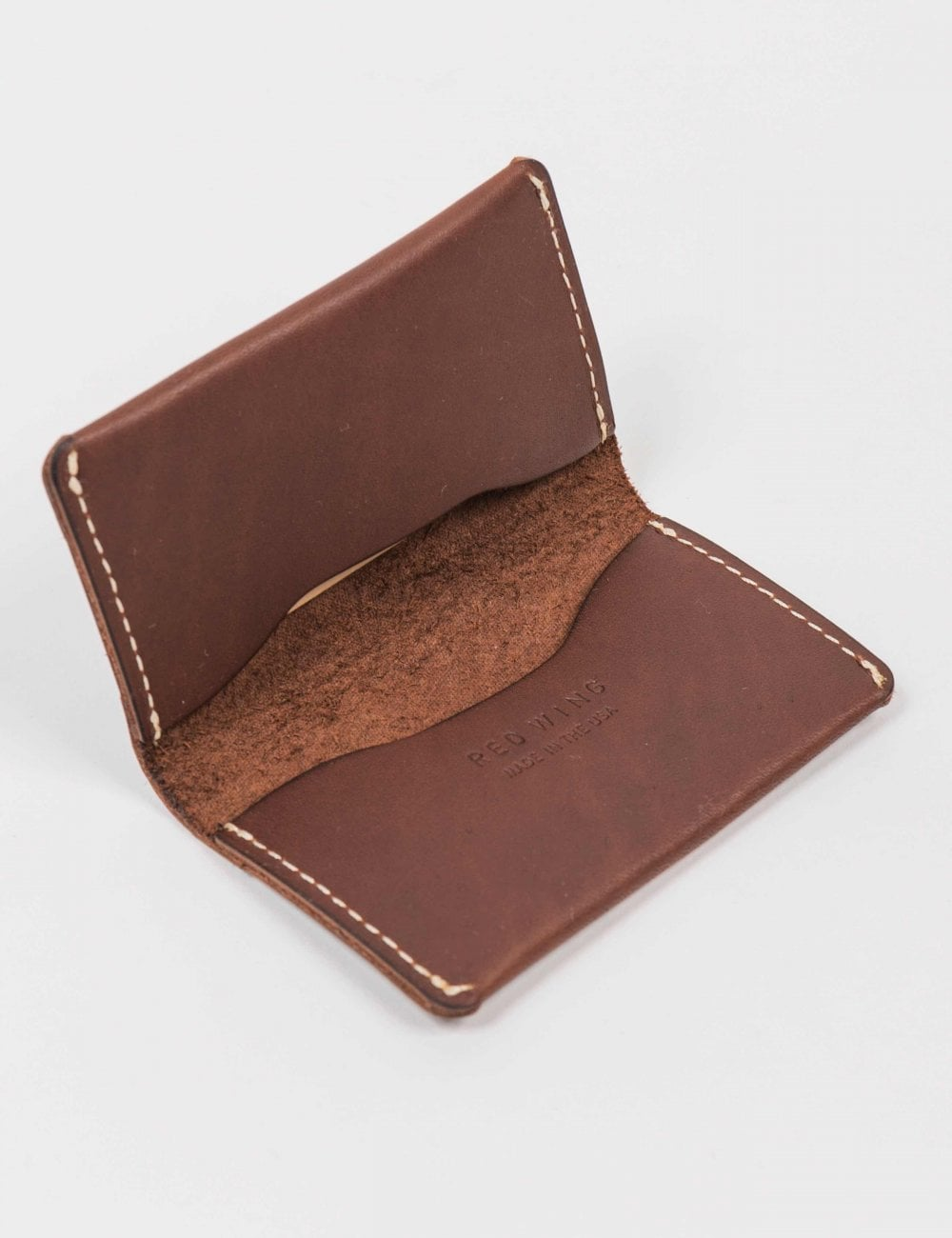 Spring Sale Red Wing Card Holder Wallet Amber Frontier