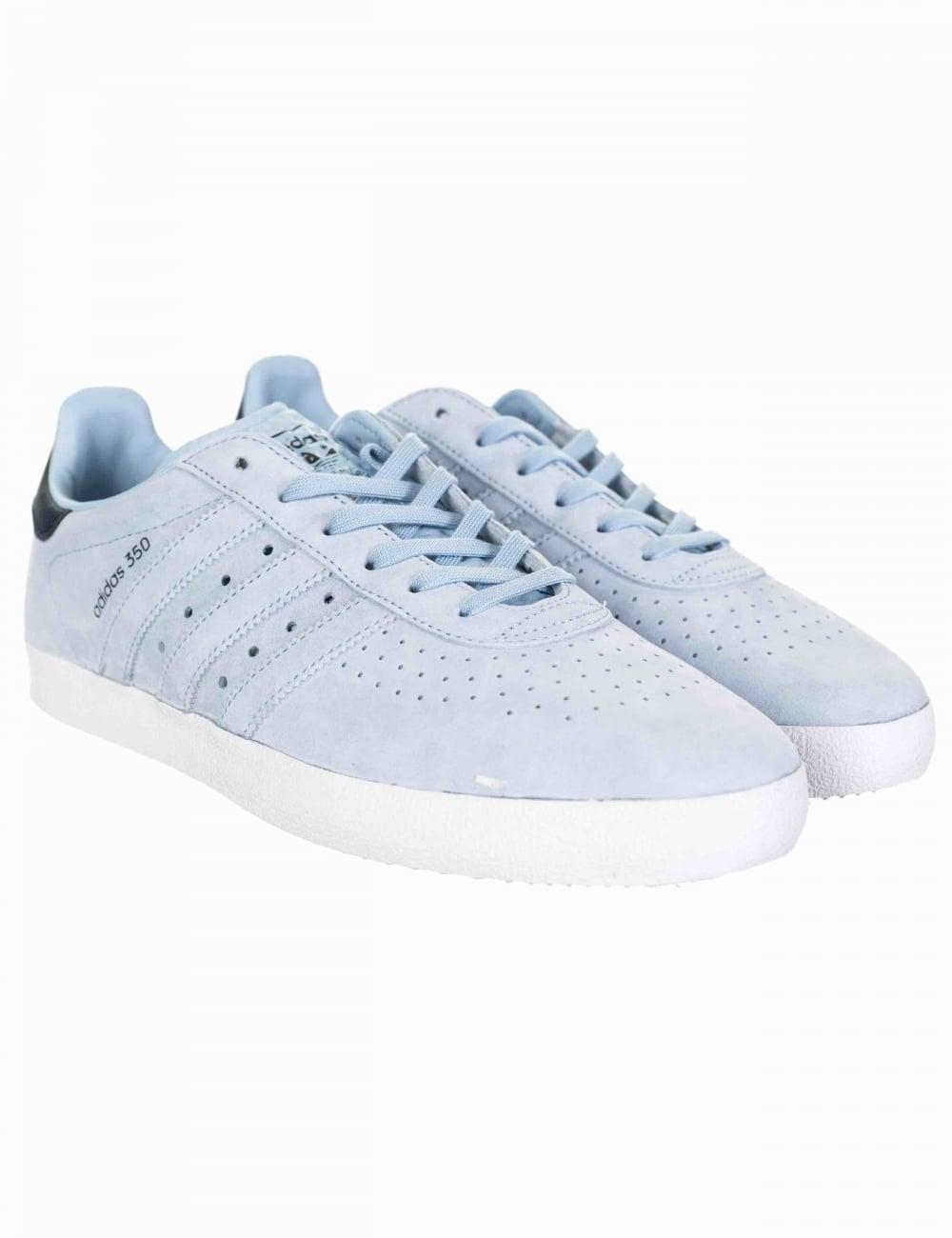 65e664b0c53e4 Adidas Originals 350 Shoes - Easy Blue Collegiate Navy - Footwear ...