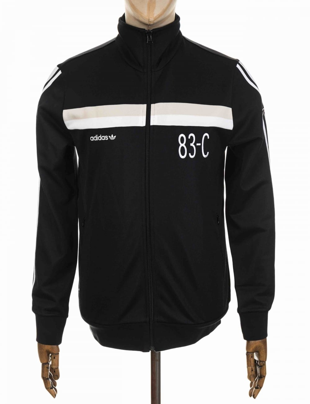 save off 2107e b7ebe Adidas Originals 83-C Track Top - Black