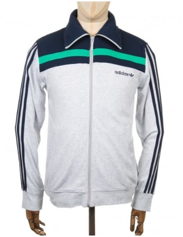 83 Europa Track Top - Light Grey