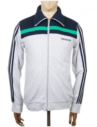 Adidas Originals 83 Europa Track Top - Light Grey