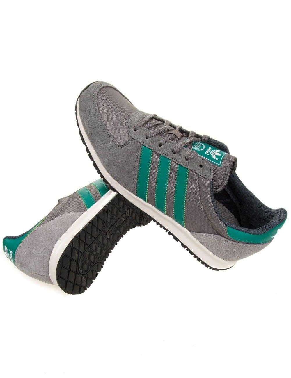 35deec654f3 Adidas Originals Adistar Racer Shoes - Ash Subgreen - Footwear from ...
