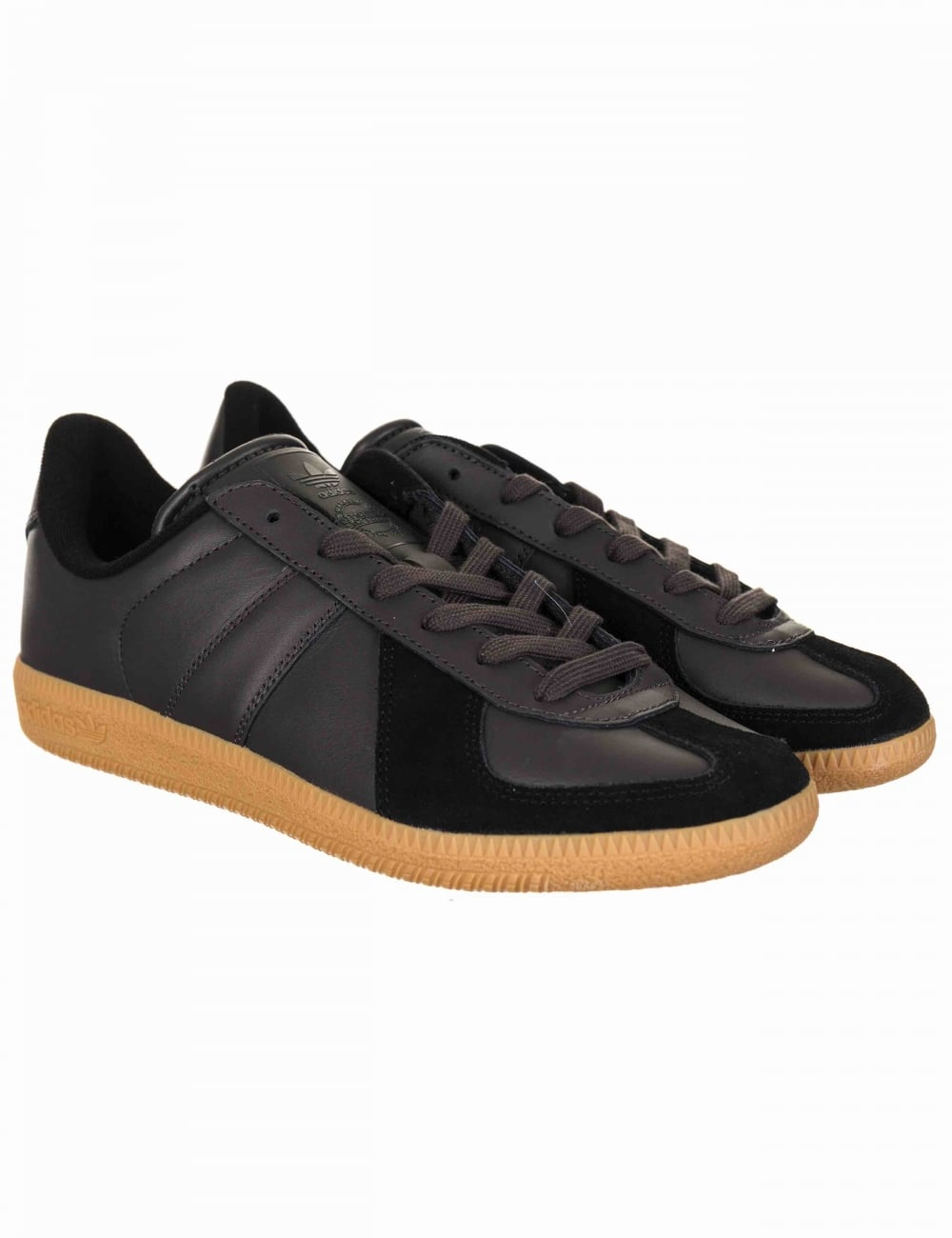 4ae970548135 Adidas Originals BW Army Trainers - Utility Black Gum - Footwear ...