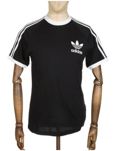 Adidas Originals California Flock T-shirt - Black/White