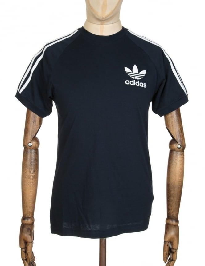 Adidas Originals California Flock T-shirt - Legend ink