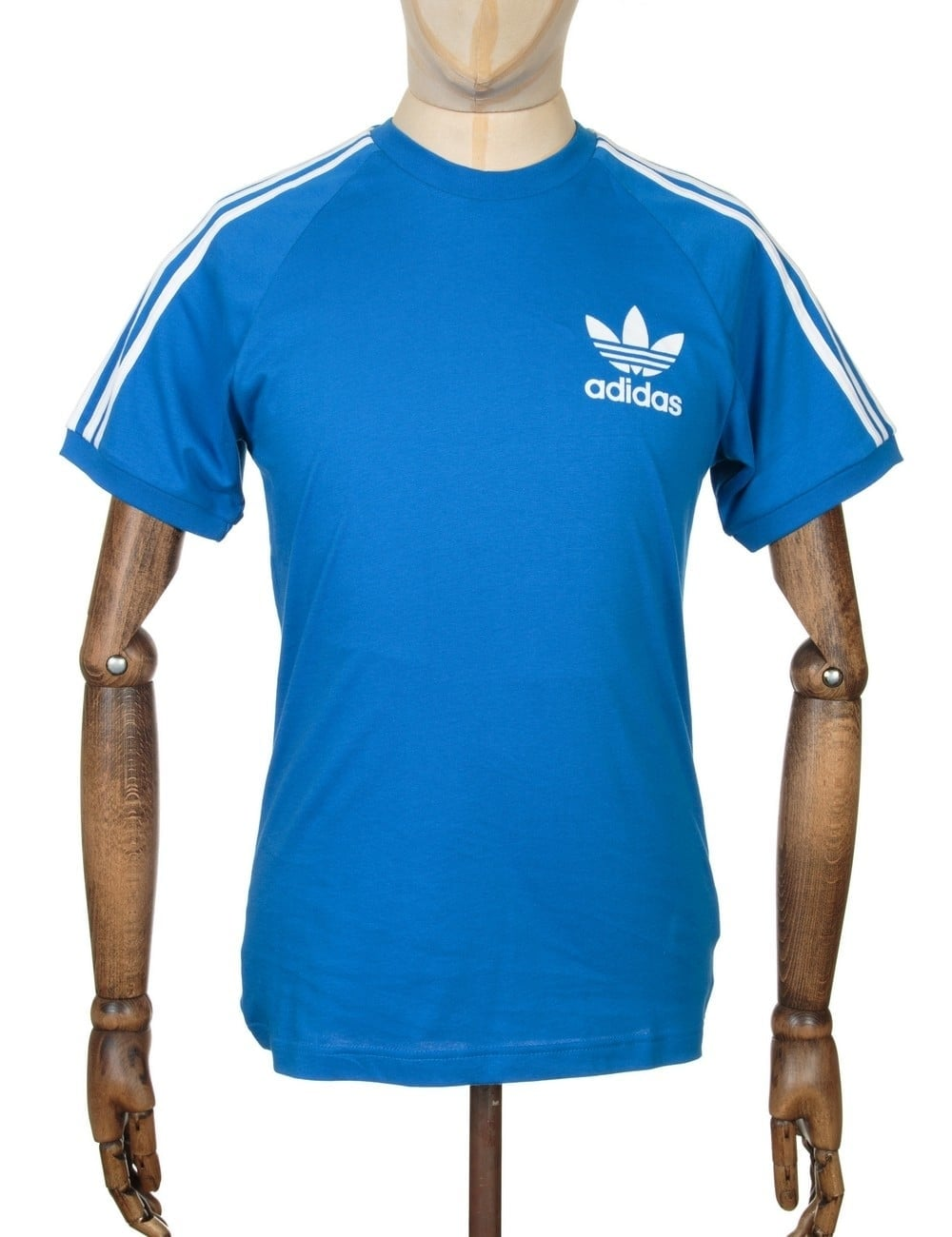 adidas originals california retro tshirt bluebird