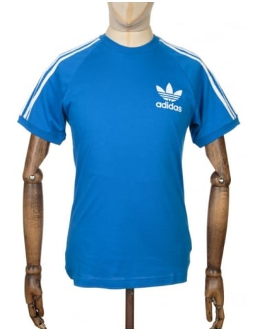 Adidas Originals California retro T-shirt - Bluebird
