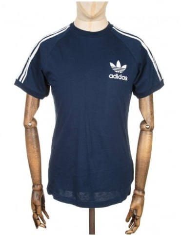 Adidas Originals California retro t-shirt - Navy