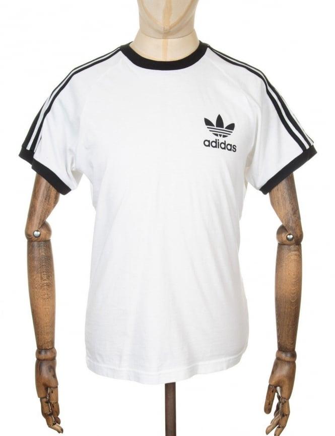 Adidas Originals California retro t-shirt - White