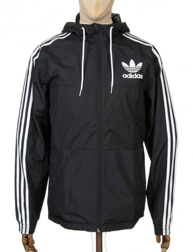 Adidas Originals California Wind Breaker Jacket - Black